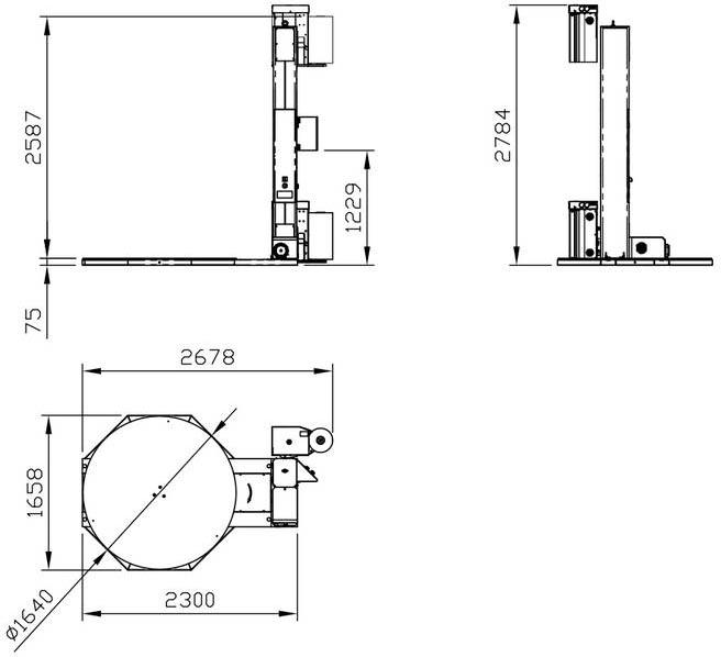 Technische Zeichnung Discovery | Technifol