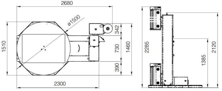 Technische Zeichnung Saving | Technifol