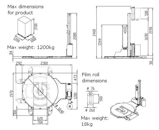 Technische Zeichnung Simply | Technifol