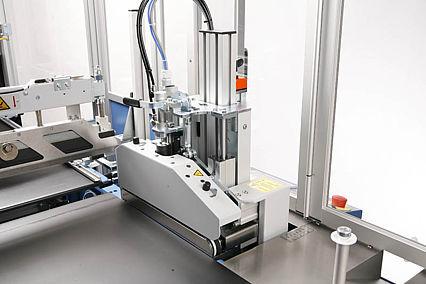 Seitenschweißmaschine COMPACTA SPEEDY | Technifol für BVM Brunner