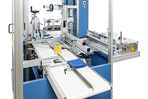 Seitenschweißmaschine COMPACTA LT | Technifol für BVM Brunner