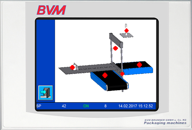 Touch Panel Control | Technifol für BVM Brunner