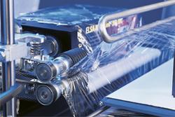 Gummierte Abzugswalzen | Technifol für BVM Brunner
