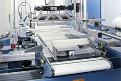 Pusher mit Produkt | Technifol für BVM Brunner