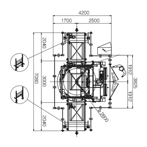 Stretchmaschine The Ring | Technifol