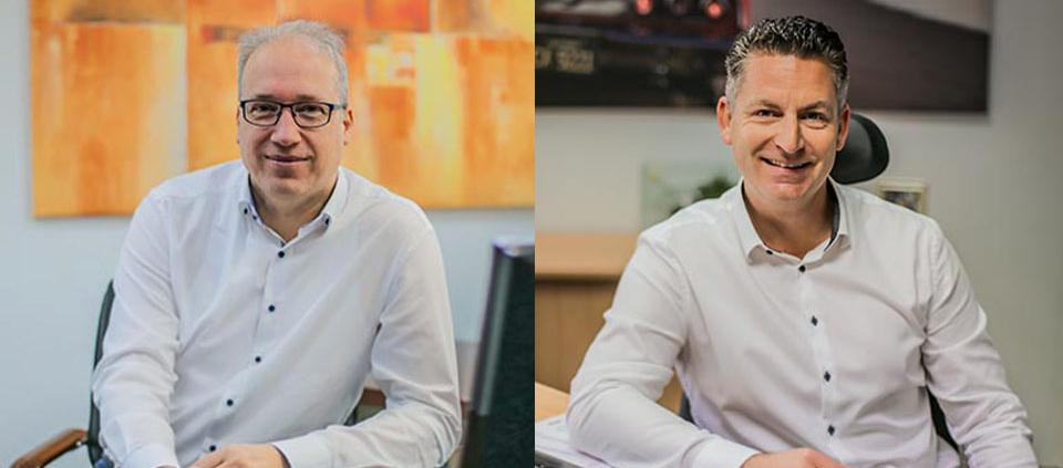 Das neue Führungsduo Oliver Sentek und Manuel Zielke | Technifol
